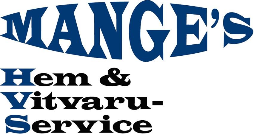Manges Vitvaror logotyp
